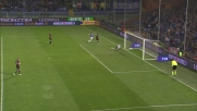 Quagliarella col mancino impegna Donnarumma: il Milan blinda il successo a Marassi