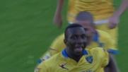Diakité, goal da opportunista: sorpasso Frosinone sul Genoa