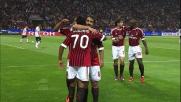 Robinho in contropiede firma la sua doppietta personale contro il Cagliari