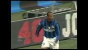 Suazo di testa porta in vantaggio l'Inter contro il Livorno