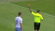 De Vrij tocca la palla col braccio: espulsione per doppio giallo