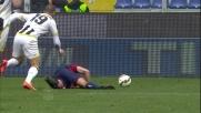 Guilherme scalcia Rincon e l'arbitro fischia il fallo