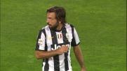 Pirlo da calcio piazzato non trova la porta della Fiorentina