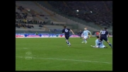 Rocchi firma il goal del raddoppio per la Lazio contro l'Empoli