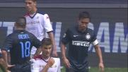 Nagatomo lascia in 10 l'Inter contro il Cagliari