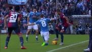 Figueiras incanta il Marassi con un colpo di tacco contro il Napoli