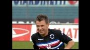 Cassano imprendibile all'Olimpico. Finte ubriacanti contro la Lazio