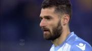 Candreva segna su rigore il goal del 5-2 tra Lazio e Verona