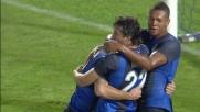 Tutto facile per Milito a Pescara che segna la rete del 0-2