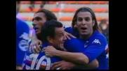 E' di Flachi il goal della vittoria della Sampdoria contro il Messina