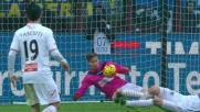 Uno strepitoso Belec salva il Carpi con una doppia parata su Felipe Melo e Palacio