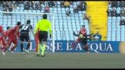 Christian Maggio provoca un rigore per l'Udinese