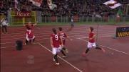 Totti segna il goal vittoria all'Olimpico