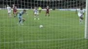 All'Olimpico di Torino Muntari segna un goal non propriamente da cineteca