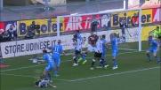 Molinaro sbaglia porta contro l'Udinese