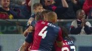 Kucka condanna l'Inter con un goal di testa al Marassi