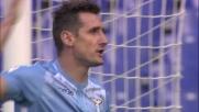Klose sale in cielo ma il suo colpo di testa esce di poco contro l'Empoli
