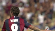 Verdi firma il vantaggio del Bologna sul Cagliari