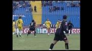 Fallo di mano in area di Portanova contro l'Udinese
