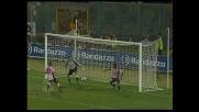 Simplicio nega il goal a Nesta con un salvataggio sulla linea in Palermo-Milan