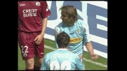 Lopez di testa porta in vantaggio la Lazio
