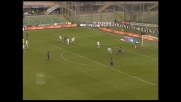 Mutu segna un goal di testa in Fiorentina-Cagliari