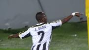 Goal caparbio di Badu contro il Parma al Friuli