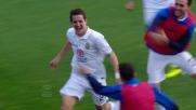 Il goal di Gomez vale il raddoppio del Verona contro il Cagliari