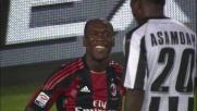Sanchez fa impazzire il Milan e Seedorf è costretto a buttarlo giù: calcio di rigore per l'Udinese