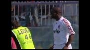 Seedorf sfrutta l'assist di Inzaghi e segna un goal al Livorno