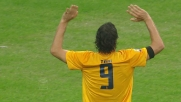 Goal annullato a Toni contro l'Inter