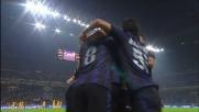 Con un rimpallo fortunoso Palacio segna il goal contro il Verona