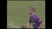 Jorgensen in goal contro il Livorno