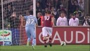 Totti su rigore segna il goal del pareggio alla Lazio