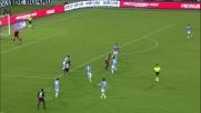 Rincon ci prova da fuori ma il palo salva la Lazio