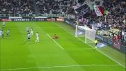 Contro la Lazio Zaza impegna Marchetti dopo un'ottima combinazione con Asamoah