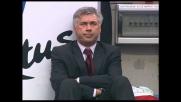 Kaladze fallisce il goal della possibile vittoria del Milan con il Siena