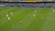 Gilberto irride Biabiany ma la sua conclusione colpisce il palo dell'Inter