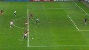 Un rigore al limite per il Milan contro il Cagliari