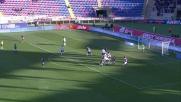 Destro scatta sul filo del fuorigioco e segna il secondo goal alla Lazio