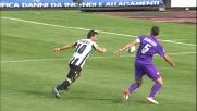 Di Natale, grandissimo controllo e conclusione contro la Fiorentina