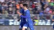 Barba realizza il goal del pareggio tra Empoli e Genoa