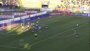 Sorensen fa tremare la traversa contro il Cagliari