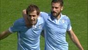 Lulic dalle retrovie segna il goal del vantaggio della Lazio