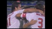 Il Milan raddoppia a Cagliari: il tiro di Shevchenko piega le mani a Carini