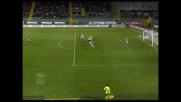 Simplicio segna il goal del vantaggio del Palermo con l'Udinese con un destro dal limite
