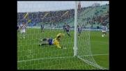 Asamoah, piatto sul palo contro il Parma