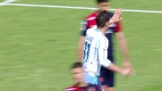 Assist di Mauri per il goal facile di Klose contro il Cagliari