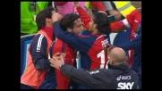 Il goal di Capone contro il Milan scatena il Sant'Elia