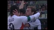 Il goal di Suazo dagli 11 metri ristabilisce la parità tra Palermo e Cagliari